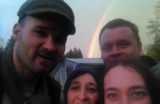 rainbow selfie 2 cropped
